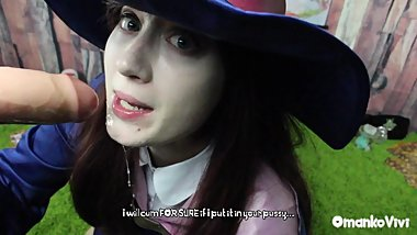 Peen Magic Akko Rides Diana Little Witch Academia TEASER OmankoVivi Cosplay