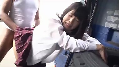 Aoi Shirosaki Cosplay Japanese School Girl Sex Scene