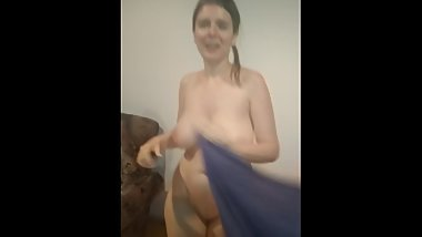 Funny Dance after Shower