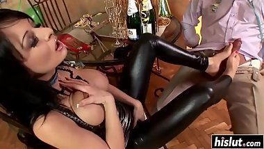 Alison Star fucked the birthday boy