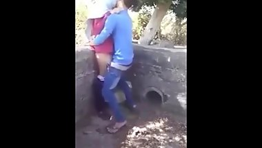 Arab Fucking Outdoor gets caught By Family