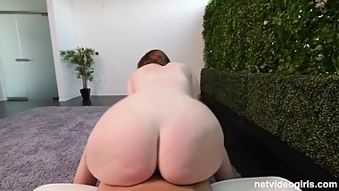 YOUNG PAWG BIG ASS POV