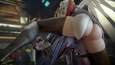 OVERWATCH SEX POV - WIDOWMAKER X MERCY THE BEST FINGERING