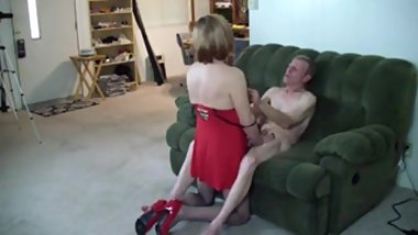 Old old Guy fuck sexy crossdresser