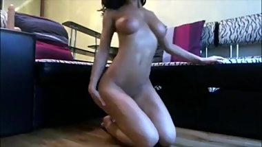 Teen Sucking And Fucking Suction Dildo