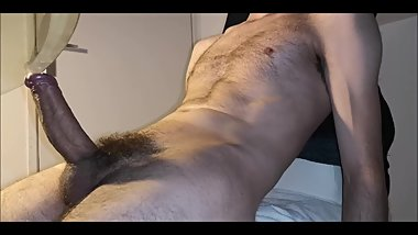 Felt The Need To Cum, So I Just Did - Hairy Skinny BvdH Wanks & Cumshot