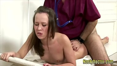 Horny Doctor Enjoys Fucking His Teen Patients Hard