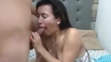 the girl sucked dick and the guy cumshot on the face.