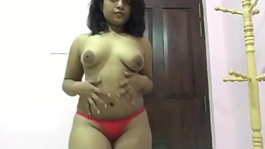 Home made Indian girl strip tease