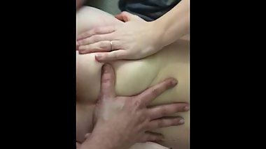 Watch me cum in beauty's tight young ass (she gets goose bumps)
