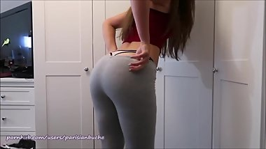 BEST OF - TRY ON HAUL THONG & BOOTY - SEXY TEEN LAUREN ALEXIS