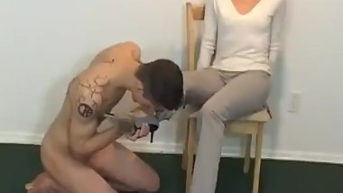 CFNM - Young guy older woman