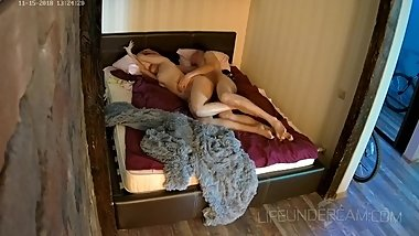 "Reality Show - brunette unhide ride hidden cam  SASHA & PETER â""–8 cam 1"
