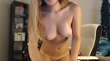 sexy blond tan lines perky tits stockings