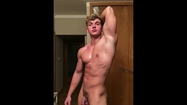 Teen Bodybuilder Shows Off Again