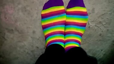 Colorful Sock Play