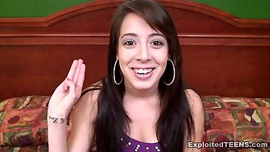 Pre View: Barely Legal Little Teenage Girl Alicyn, 18 of Exploited Teens
