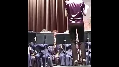Candid ass band teacher concert vpl vtl