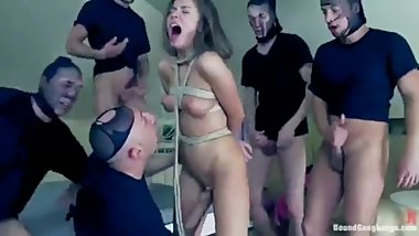 Barley 18 young whore gets fucked