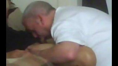 A Bi guy, Gets his cock sucked by me. It was his first time