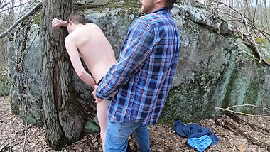 Appalachian Mountain Man Fucks Me in the Woods (Onlyfans.com/Flint-wolf)