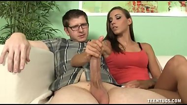Sasha Foxxx Busts Her Boy Friends Nut For Good