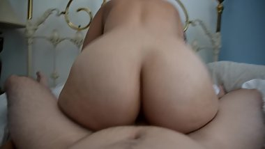 Teen Milf With Big Ass Does AssTease And Then Rides My HARD COCK!