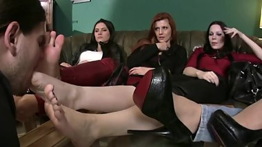 Femdom Foot Party