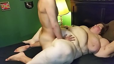 Fucking a 19 Year sbbw part 1