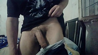 young bull with big cock