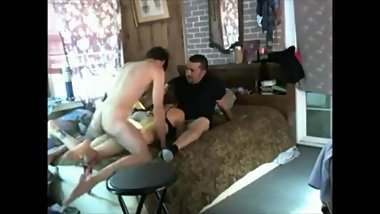 Big cock threesome from hung young stud nails my wife