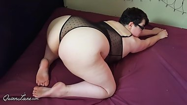 BBW Ass Shaking in Bodysuit (Short version)