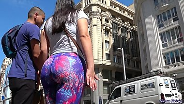 Candid Spanish Ass In Lycra Yoga Pants from GLUTEUS DIVINUS