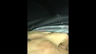 Teen Girlfriend Giving Me A Quick Blowjob Before Class