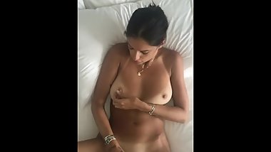 Young Gf Masturbating with Vibrator