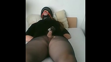 Crossdressed Teen having fun :)