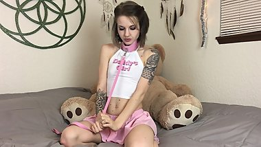 Baby Girl Cums - Horny Teen Roleplay