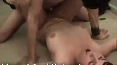 Stud SEXORCISES his possessed TEEN slut and gives her a GOD DAMNED ORGASM